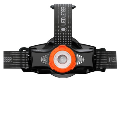 Latarka czołowa Ledlenser MH11 - Black-Orange