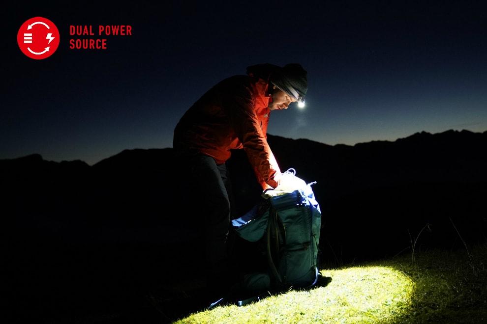 Latarki Ledlenser – Dual Power Source