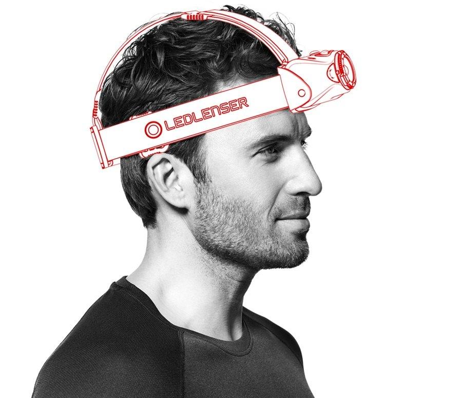 Latarki Ledlenser – MH8 na głowie