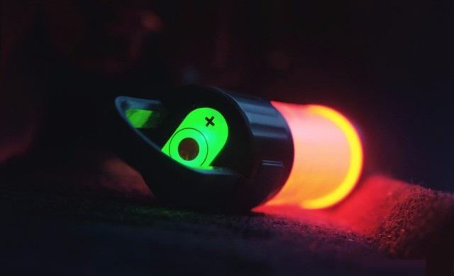 Latarki Ledlenser - zielone światło